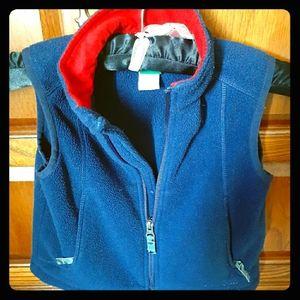 L.L. Bean kids' lightweight fleece vest